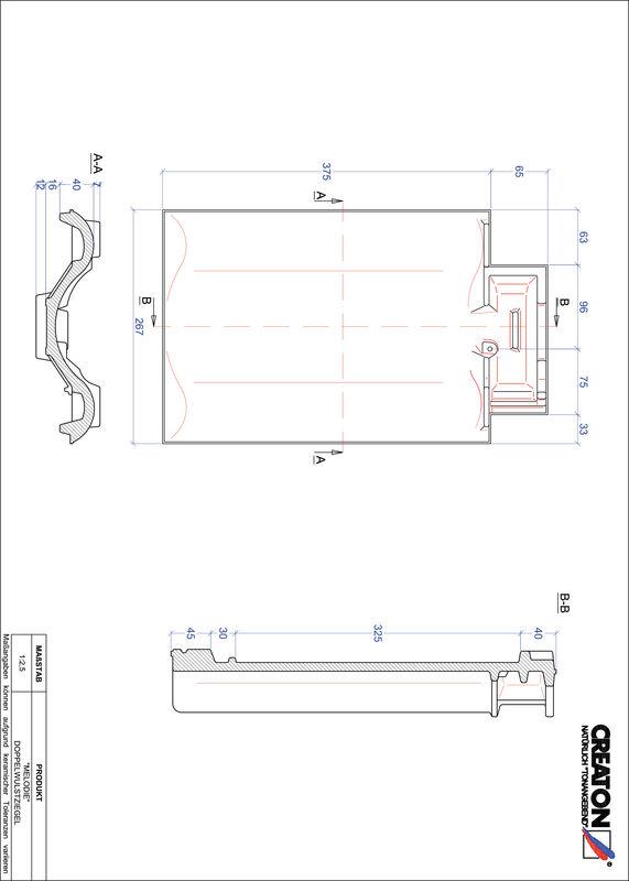 CAD soubor tašky MELODIE taška s dvojitou naválkou DWZ