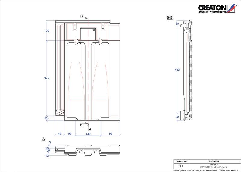 CAD soubor tašky RAPIDO větrací taška LUEFTZ