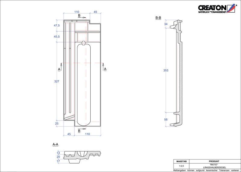 CAD soubor tašky RATIO poloviční taška LH