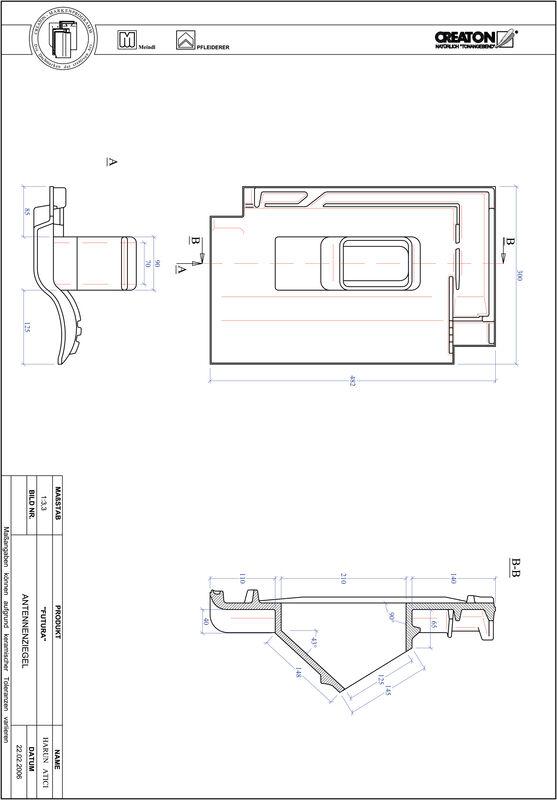 CAD soubor tašky FUTURA anténní taška ANTENNE