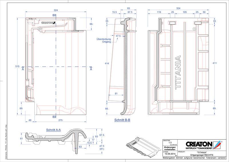 CAD soubor tašky TITANIA krajní taška pravá OGR